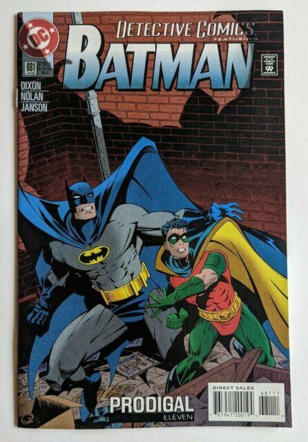 Detective Comics 681 DC Comic 1995 Batman Prodigal Part 11 Chuck Dixon Robin