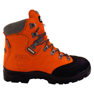 Genuine-Stein-Krieger-Orange-Chainsaw-Boots-SS-8C9001