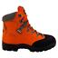 Genuine-Stein-Krieger-Orange-Chainsaw-Boots-SS-8C9001 thumbnail 1