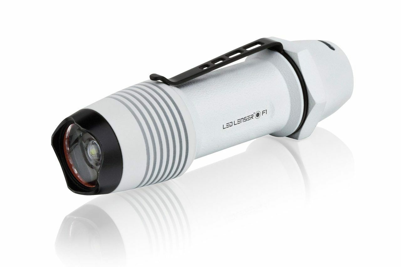 NEW LED Lenser F1W Flashlight, 500 Lumens