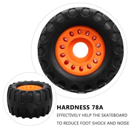 4pcs Skateboard Wheel Set Longboard Wheels Cruiser Skateboard Accessories 70mm