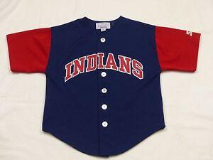 a7c0a30a98576 Details about Cleveland Indians Vintage Starter Jersey T Shirt NFL USA  Justice Size: M Tip Top