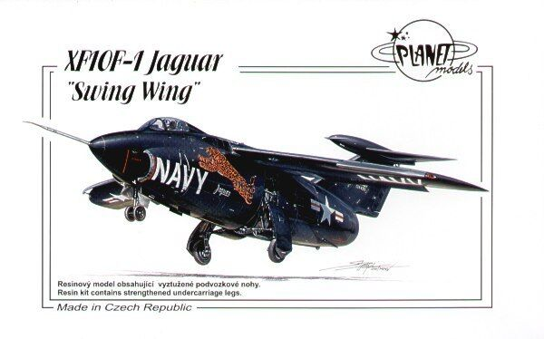 Planet 1 72 XF10F-1 Jaguar Swing Wing