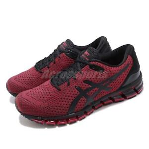 86a1512e9c Details about Asics Gel-Quantum 360 Knit 2 Black Samba Red Men Running  Shoes Sneaker T8G3N-001