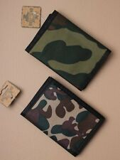 Camouflage Wallet (One supplied) boys party ideas