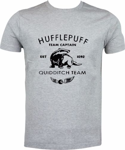 HUFFLEPUFF QUIDDITCH TEAM CAPTAIN HARRY POTTER FULL COLOR SUBLIMATION T SHIRT