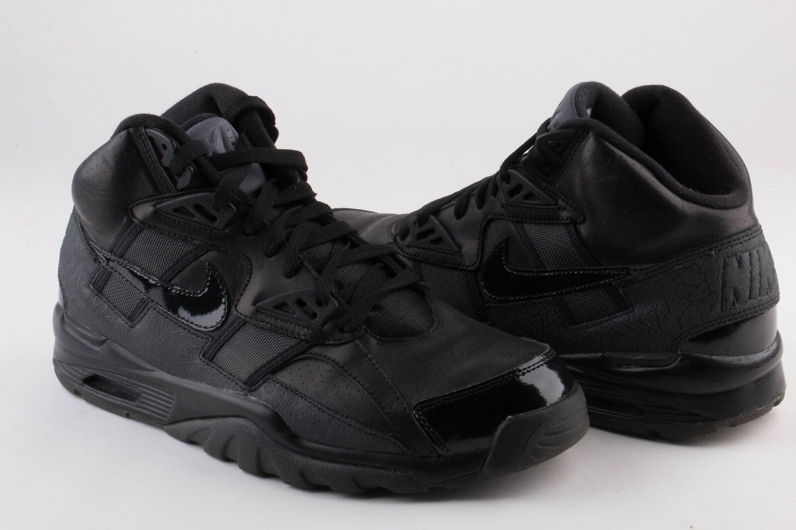 Nike Mens Air Trainer SC High QS Blk/Blk-Drk Grey 585125-007 Comfortable Casual wild