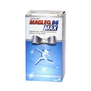 MAGLEQ-B6-Magnesium-50-tabl-Nervensystem-Stress-Muskeln-Muedigkeit-Kraempfe