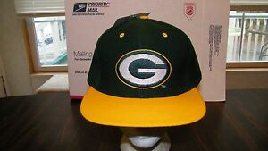 14e7a9dd GREEN BAY PACKERS VTG 90's NWT HAT CAP SNAPBACK NFL LOGO 7 GAME DAY ...