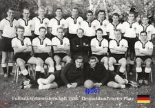 Fussball Weltmeisterschaft 1958 + Deutschland vierter WM Platz + BigCard #337 +