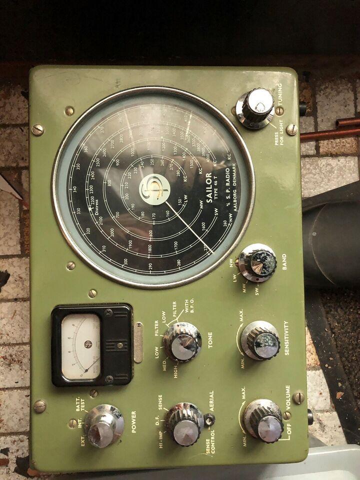 Batterier box, Sailor, 46 T