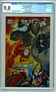 Do You Pooh #1 CGC 9.8 ASM #801 Metal Edition Kincaid Harley Cover UCB LTD 12