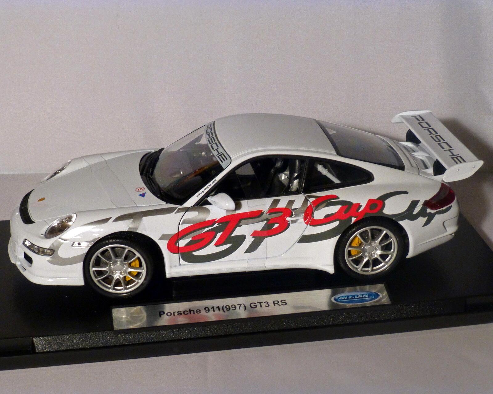Porsche 911   997 GT3 RS - Cup, WELLY 1 18