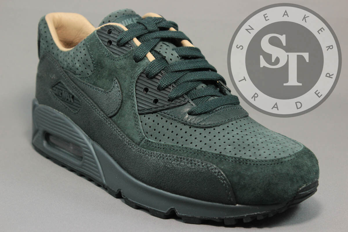 NIKE WMNS WOMEN'S AIR MAX 90 PI612-301 SEAWEED LINEN HASTA DS Price reduction