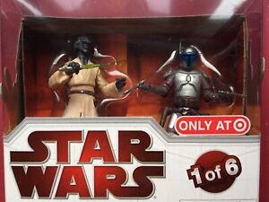 Jango Fett Collection Héritage Star Wars Geonosis Arena 1: une des 6 pointes ciblées