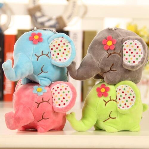 Elefant Weichem Plüsch Spielzeug Mini Stofftier Baby Kinder Geschenk Tiere Puppe