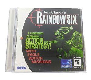 Tom-Clancy-039-s-Rainbow-Six-Video-Game-for-Sega-Dreamcast-Rare-Army-Military-Spy