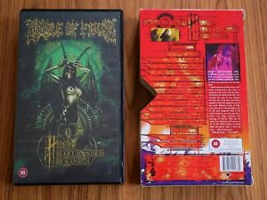 Cradle-of-Filth-Heavy-left-handed-amp-candid-VHS-AbraCadaver-2001-Live-clips