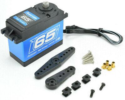 Power HD WH-65KG 1//5 HPI Baja Waterproof Digital High Torque Steering Servo