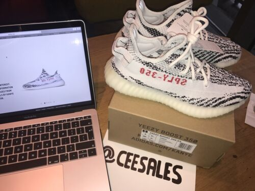 Adidas Cp9654 Boost West Zebra Receipt X Footlocker 350 Yeezy Us6 V2 5 Kanye Uk5 IOwOqr