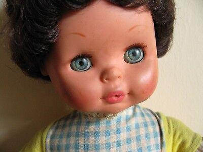 Di Larghe Vedute Bambola Bambolotto Migliorati Con Vestito E Corpo Morbido Vintage Anni '60 '70