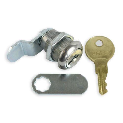 4Pack Rv Compartment Door Cam Lock Set 5//8 Inch Camper Trailer Motorhome Storage