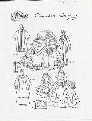 April in Paris Doll Pattern For Barbie and Ken Rare