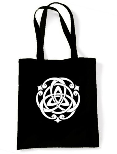 CELTIC KNOT SHOULDER BAG Pagan Druid Wicca Goth Gothic Choice Of Colours