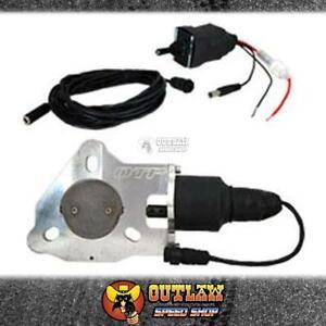 """QTPEC30 QTP 3/"""" Single Electric Exhaust Cutout Kit"""