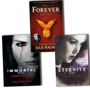 Julie-Kagawa-Blood-of-Eden-3-Books-Collection-Pack-Set-The-Immortal-Rules-Forev