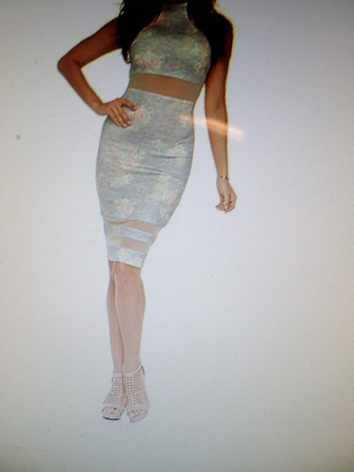 Kardashian Kollection Woherren Sheer Pane Sheath Dress -Floral