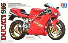 Tamiya 14068 1/12 Scale Motorcycle Model Kit Ducati 916 Super Bike
