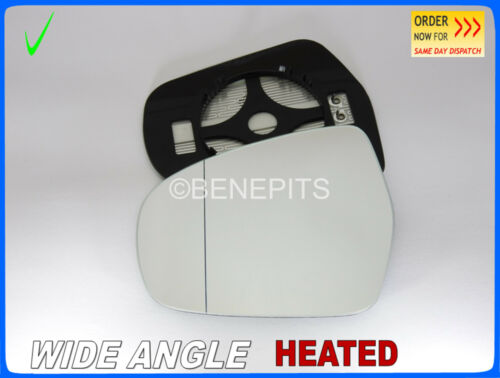 Wing mirror glass for Suzuki SX4 scross 2013-2018 Grand Angle Chauffé Gauche #SU033