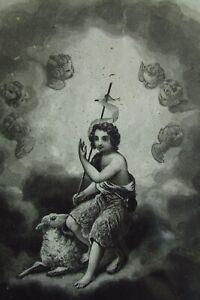 Antique-French-Lithographic-Print-Saint-Jean-Baptist-John-the-Baptist-c1890