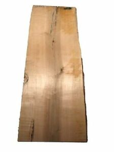 Maple Wood Board Tree Slice Maple 106x39/44cm 25mm