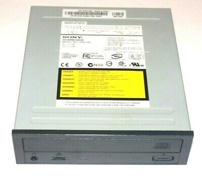 Black Cd, Dvd & Blu-ray Drives Drives, Storage & Blank Media Frugal Sony Crx216e 48x24x48x Internal Ide Cd-rw Drive