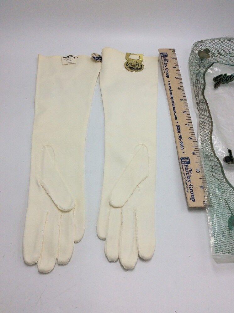 Vintage Elvette Dawnelle Womens Gauntlet Gloves W… - image 2