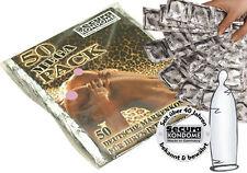 Preservativi trasparenti confortevoli Condoms Secura Trasparent Beutel 50 pz