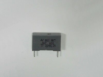 10 condensateurs Film axial C341 0.047µF 47nF 400V 10/% RTC 222234159473 +H33
