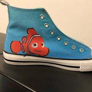 fb4502bb0f18 Image is loading Finding-Nemo-Kids-Custom-Converse-Shoes-Character- Personalised-