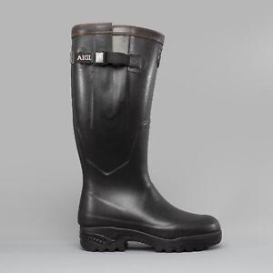 Aigle-PARCOURS-2-ISO-Unisex-Mens-Ladies-Rubber-Wellies-Wellington-Boots-Black