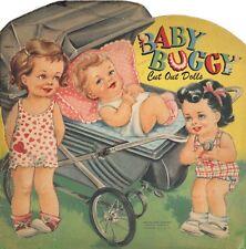 VINTAGE UNCUT MY TWIN BABIES PAPER DOLLS HD~LASER REPRODUCTION~LO PRICE~HI QUA