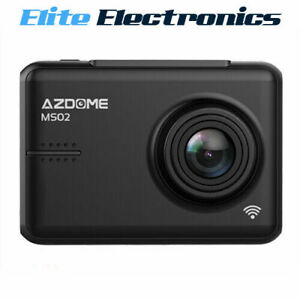 AZDOME MS02 Full HD 1080P 30 FPS Dash Cam w/ WiFi & Super Capacitor