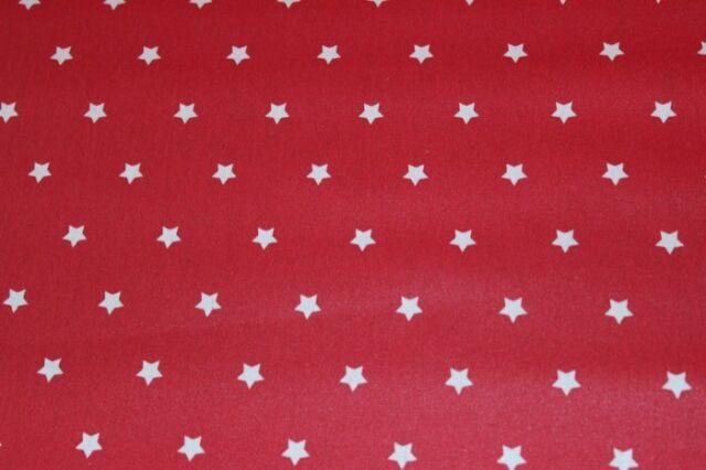 acrylbeschichtet,große Farbauswahl 0,5m Beschichtete Baumwolle Sterne Wachstuch