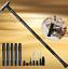 Indexbild 12 - Trekkingstöcke Überleben Multifunktion-Taktisch Stock Walking Cane Alpenstock