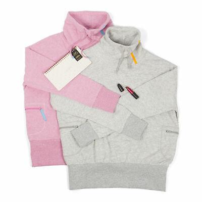 Intimuse Damen Sweatshirt Pullover Hoddie Hoddy Basic Schalkragen Langarm XS 3XL   eBay