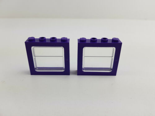 Lego® Harry Potter Fenster Eisenbahn Bus lila 2 Stück für 6556 4033 4034 4866