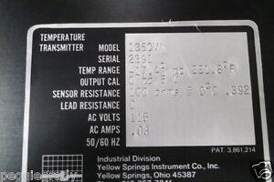Yellow-Spring-Instr-Model-1250-Temperature-Transmitter