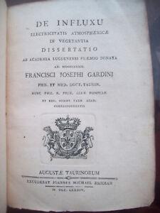 1784-FRANCESCO-GARDINI-INFLUSSO-DELL-039-ELETTRICITA-039-APPLICATO-AI-VEGETALI-RARITA-039