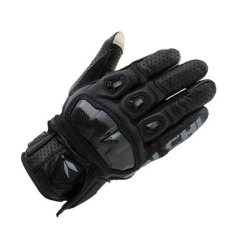 RS Taichi RST410 Mens Perforated leather Motorcycle Mesh Gloves Black Red White